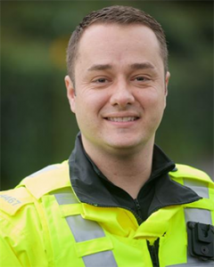 PC David Dargie MBE
